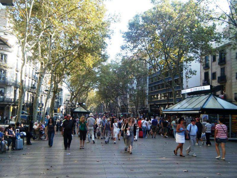 Las Ramblas Barcelona by aussirose - Barcelona