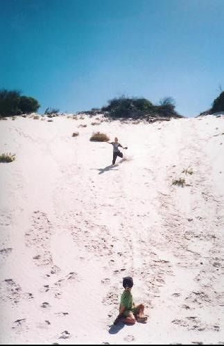 Australian sand dunes Hopetoun - Hopetoun