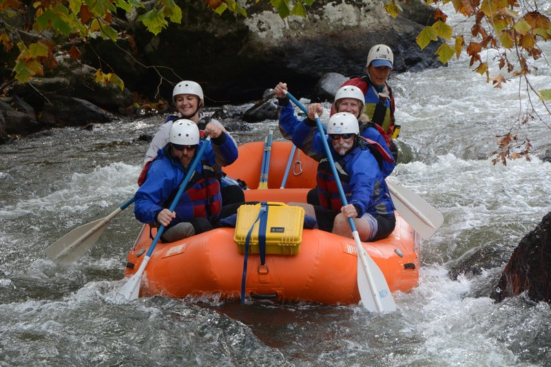 162 Asheville - White Water Rafting 2