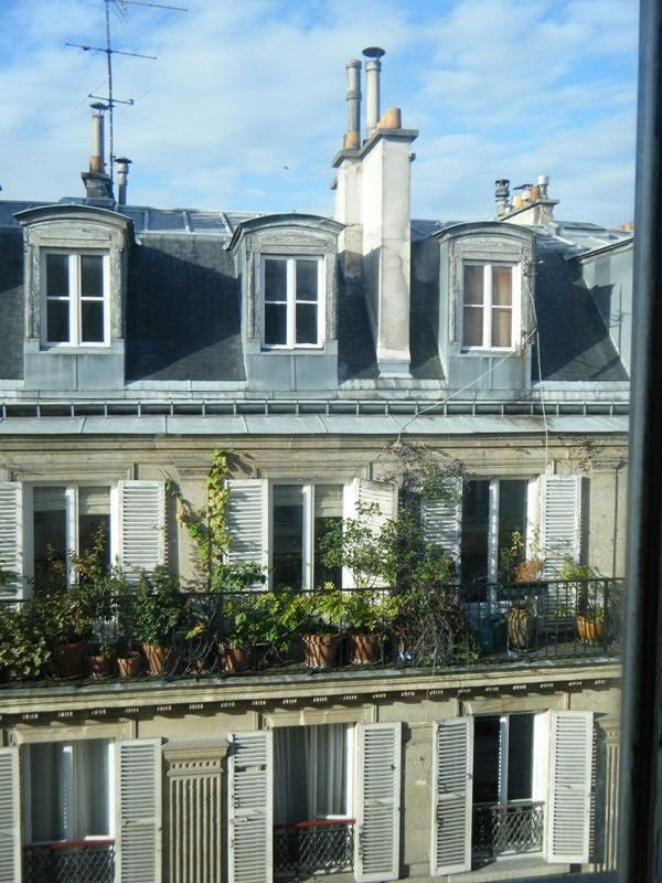 Hotel Cujas Pantheon view from window - Paris