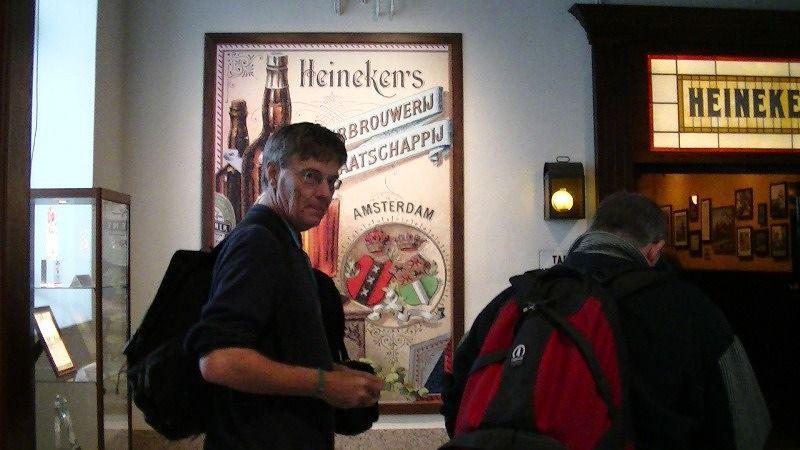 PJ and Howie at Heineken Experience Amsterdam - Amsterdam