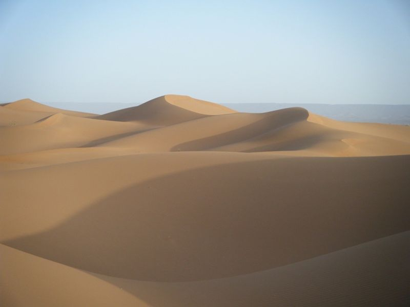 Sahara Desert Dunes by aussirose - Morocco