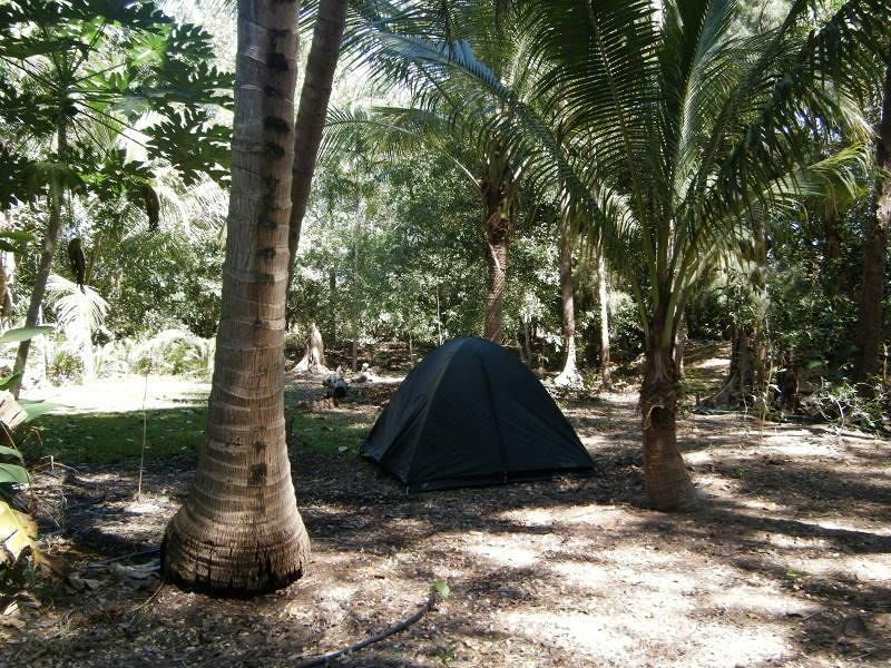 Our tent in Zig's back yard Noonamah by aussirose - Darwin