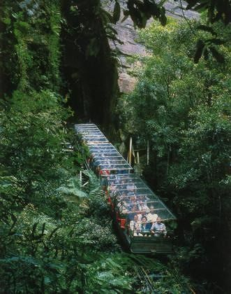 Blue Mountains Scenic Railway by aussirose - Blue Mountains National Park