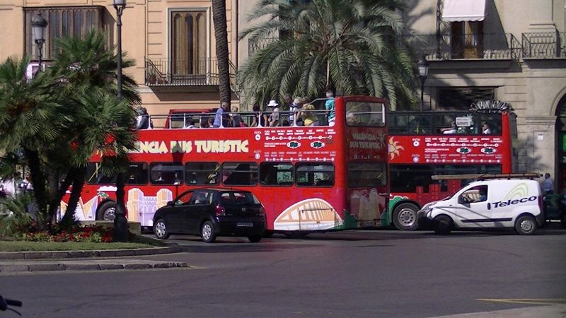 Hop on hop off Tourist Bus Valencia by aussirose - Valencia