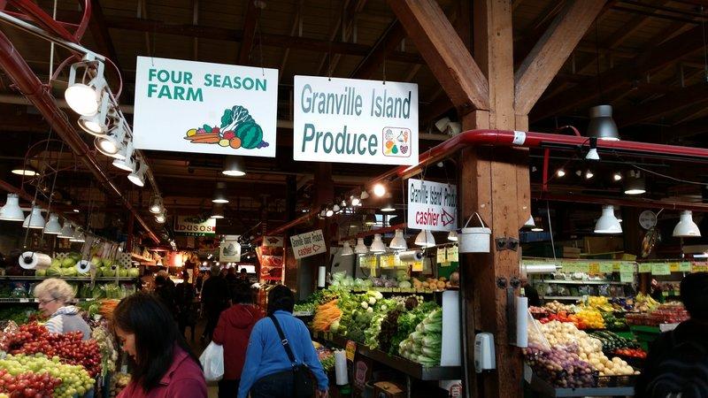 22 Vancouver - Granville Island Markets