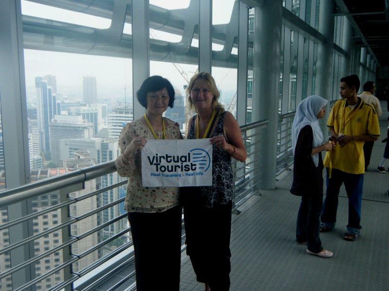 aussirose and chocolatecake KL Towers Skybridge - Kuala Lumpur
