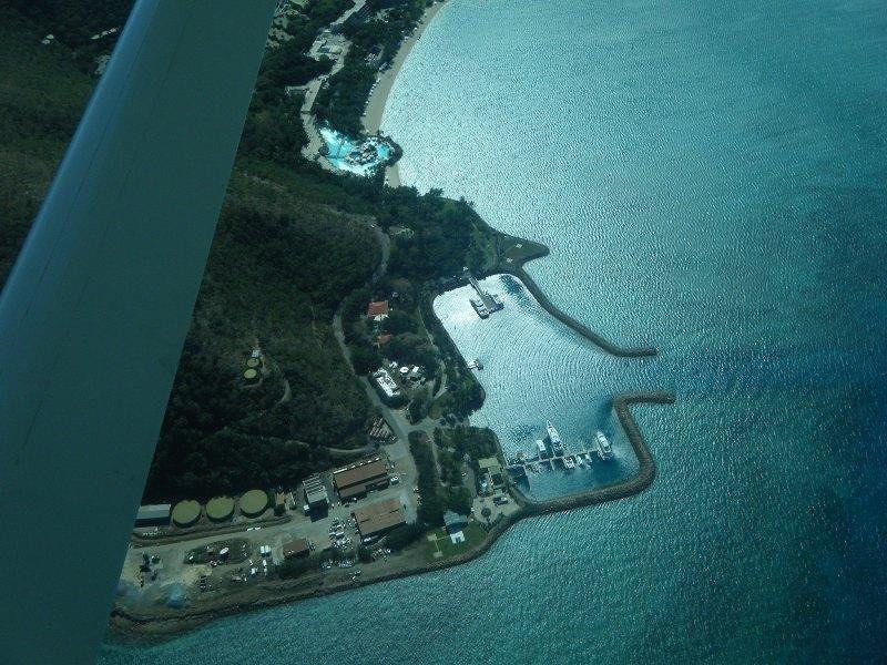 Hayman Island from seaplane - Hamilton Island