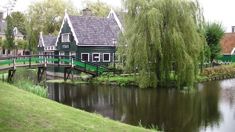 The quaint village of Zaanse Schans - Amsterdam