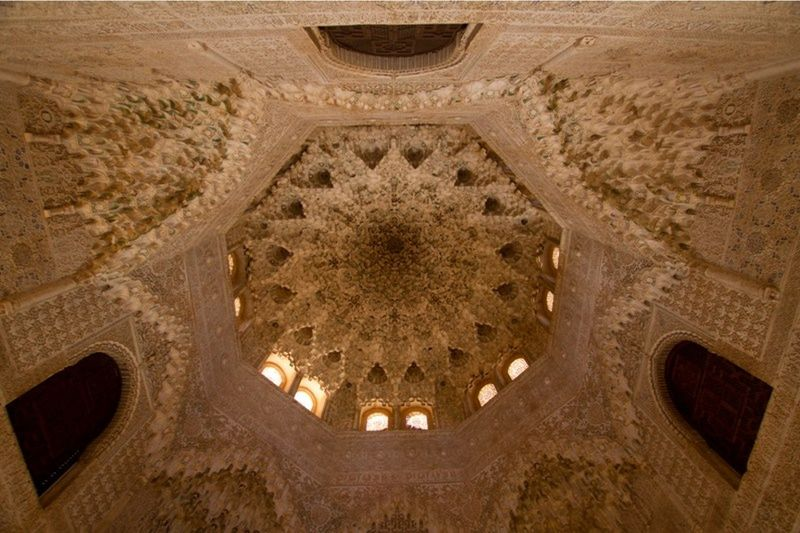 Hall of 2 Sisters Ceiling La Alhambra by aussirose