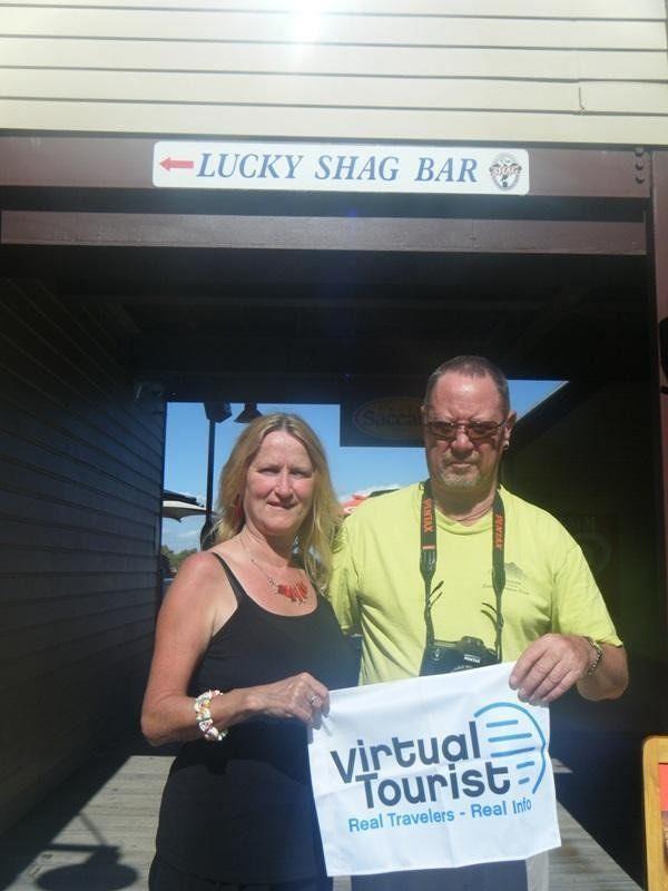 aussirose & stevemt at Lucky Shag Pub Perth - Perth