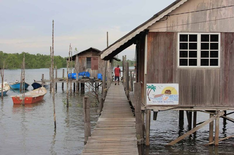 Kelong Mamod - A Quaint Fishing Village south KL - Kuala Lumpur