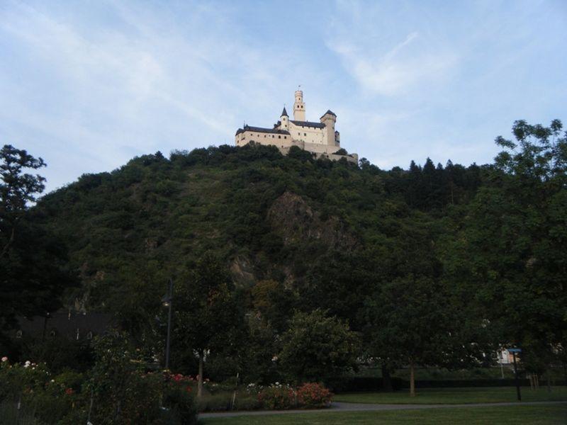 Marksburg Castle Braubach by aussirose - Braubach