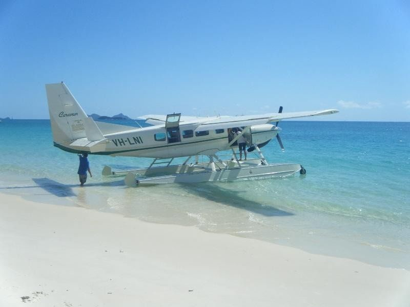 Whitehaven Beach by sea plane - Hamilton Island