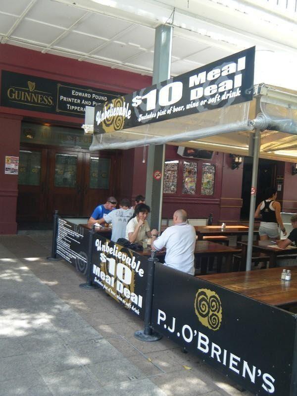 P J O'Briens Pub Cairns by aussirose - Cairns
