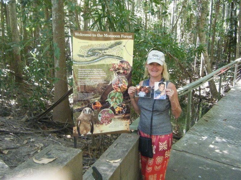 Tripack, OH_DK  & aussirose - Darwin Wildlife Park - Darwin
