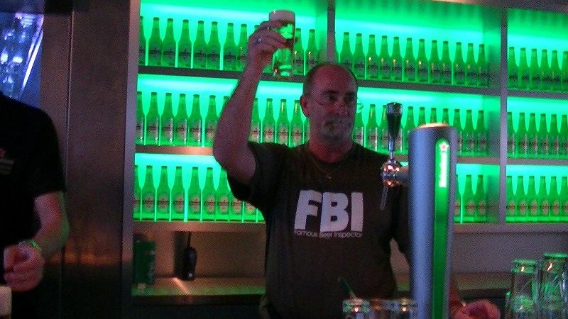 Heineken Experience Amsterdam - FBI on the job - Amsterdam