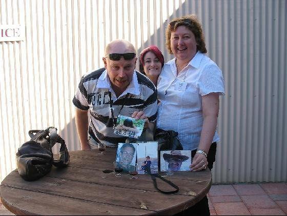 Buffybird, Kelli,  Chris - Swan Valley Wineries