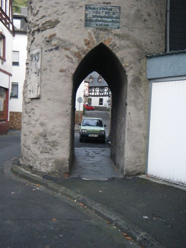 Narrow streets of Braubach by aussirose - Braubach