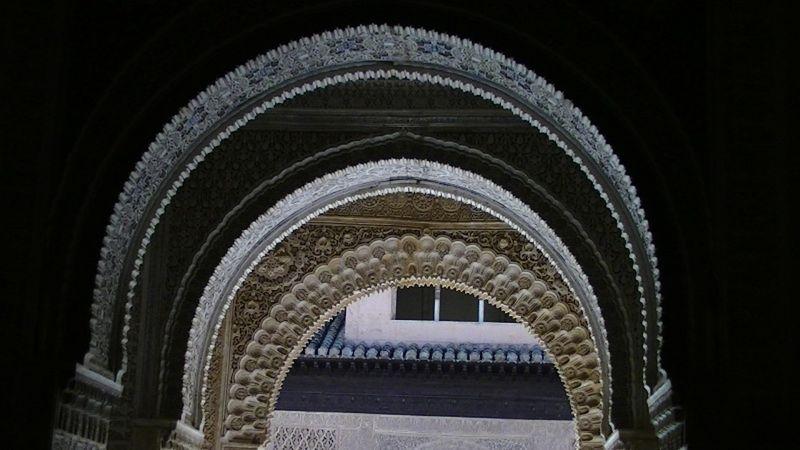 La Alhambra Palace Interior architecture