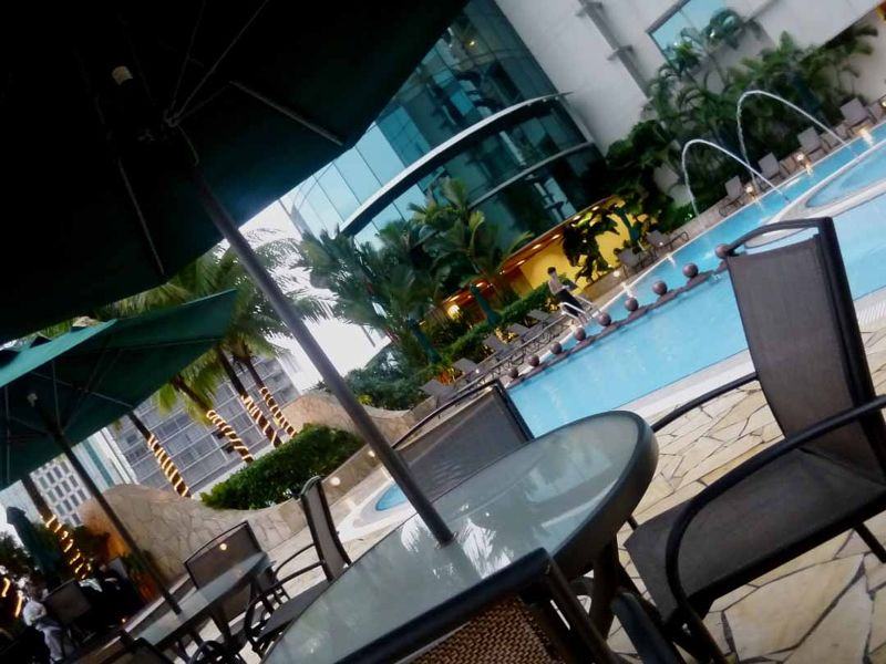 Prince Hotel KL - pool - by aussirose - Kuala Lumpur