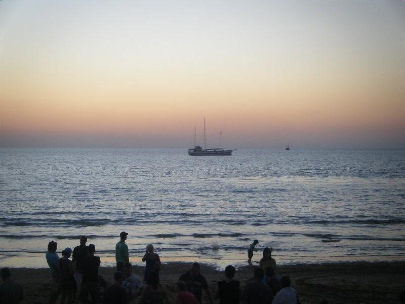 Darwin Sunset at Mindil Markets - Darwin