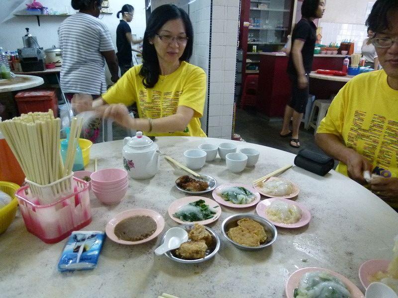 aussirose sharing breakky with DaHongHua in Penang - Penang