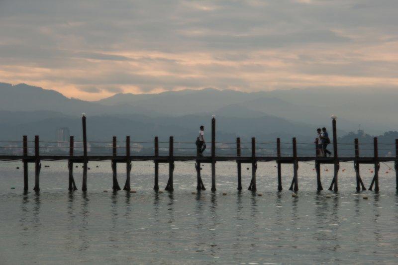 Malaysia - Manukan Bridge Misty