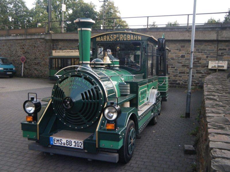 Braubach - Train to Marksburg Castle - Braubach