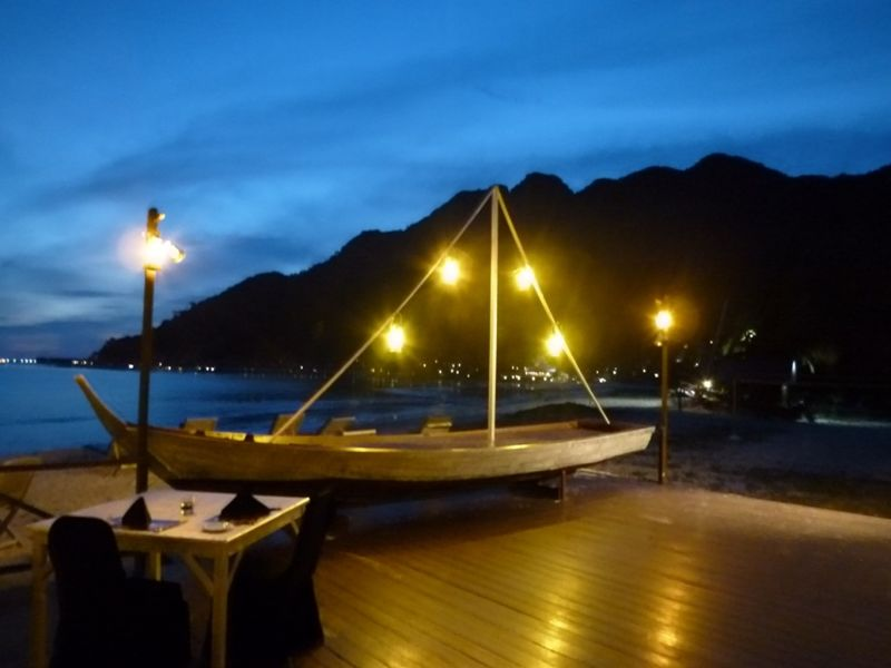 Seashell Restaurat Mutiara Burau Resort aussirose - Pulau Langkawi