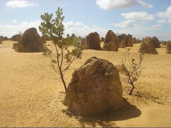 Small mountain rock Pinnacles - Cervantes