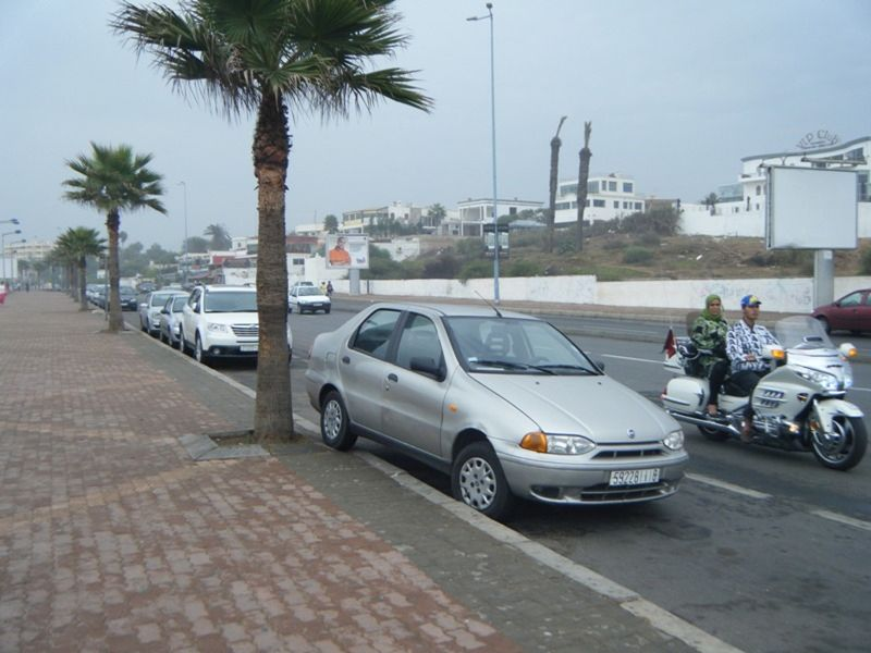 Unique parking Casablanca Morocco