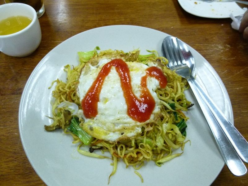aussirose tastes Penang Mee Goreng Noodles - Penang