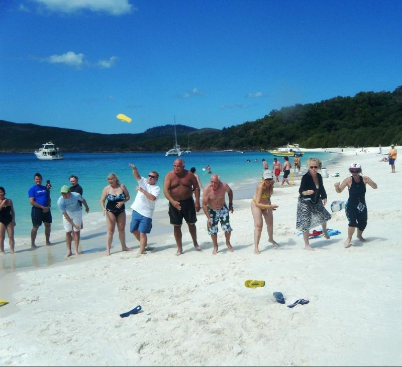 First VT Olympics - Whitehaven Beach
