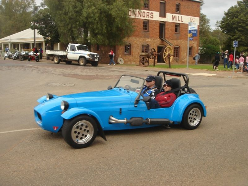 Toodyay Vintage Car Connors Mill by aussirose - Toodyay
