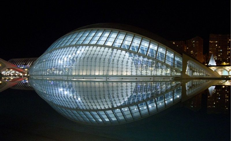 City of Sciences Valencia at night by aussirose