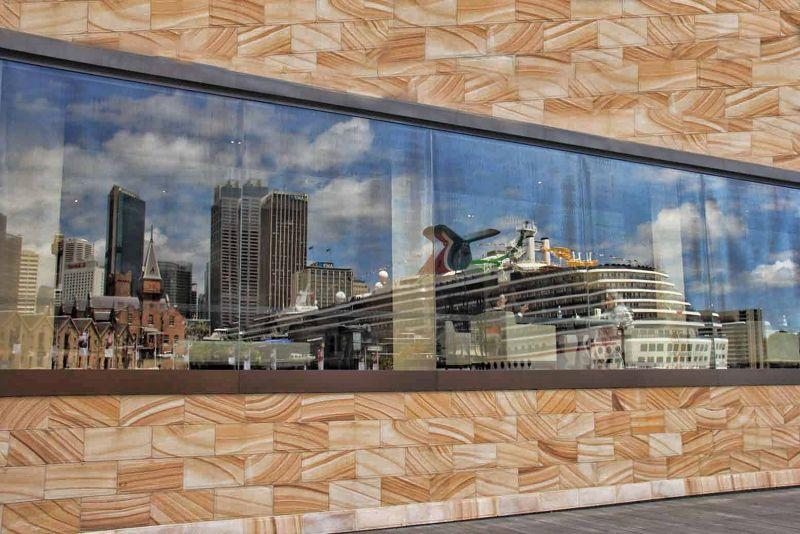 Silhouette of Circular Quay by aussirose - Sydney