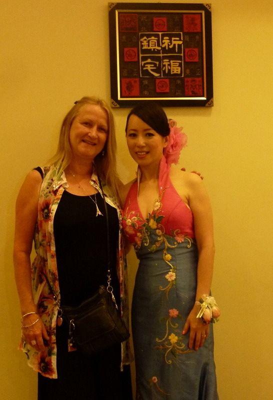aussirose and winnietankl at her wedding in Penang - Penang