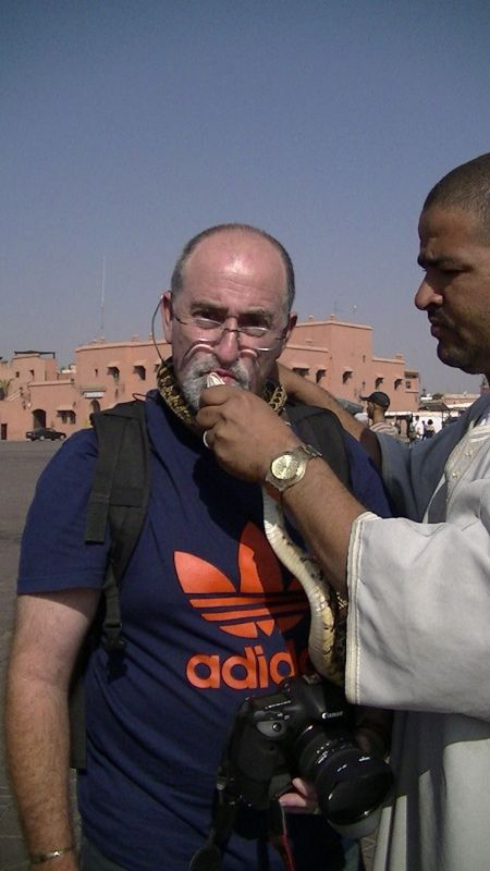 Tourist Trap - Snake Charmers Marrakech
