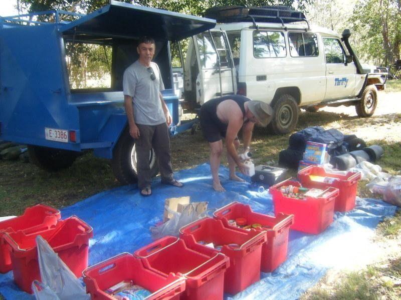 Darwin Survivor outback trip 2008