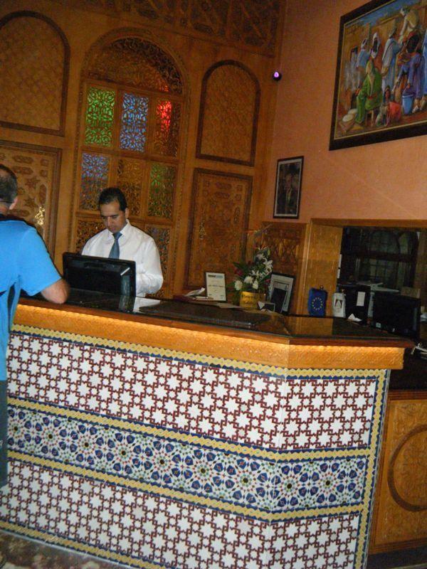 Hotel Club Val D'anfa Casablanca front desk