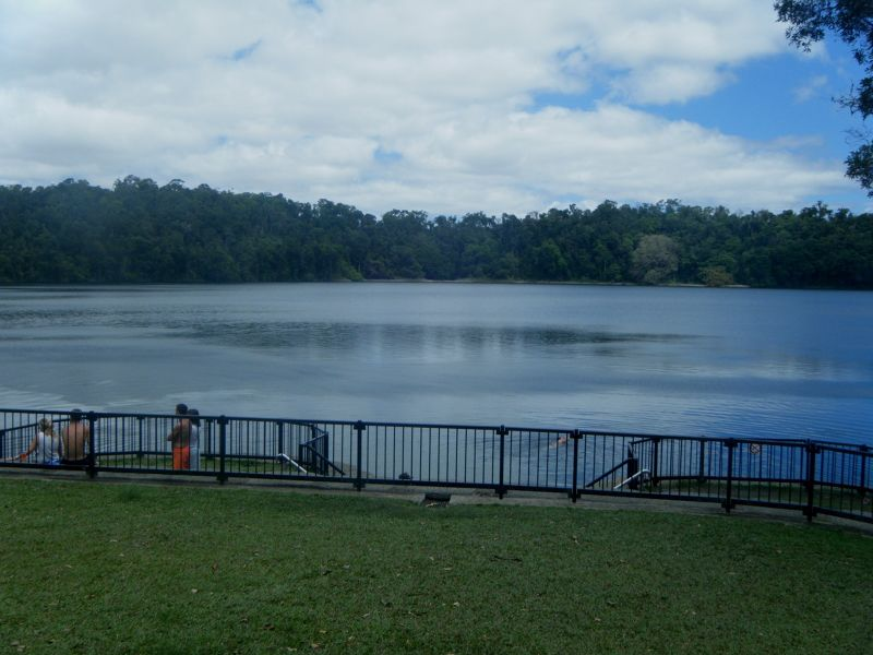 Lake Eacham, Cairns Tablelands by aussirose - Cairns