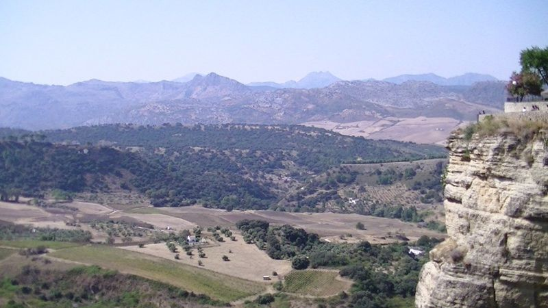Andalucian countyside Spain by aussirose - Ronda