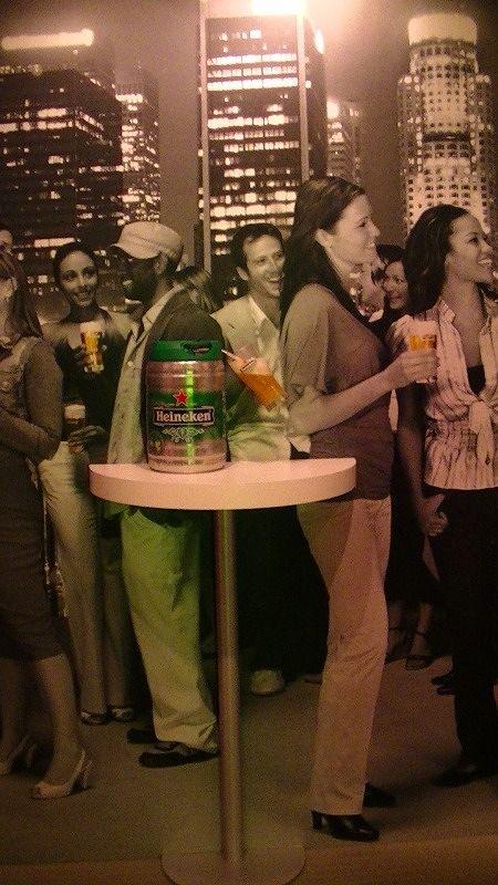 aussirose does Heineken Experience Amsterdam - Amsterdam