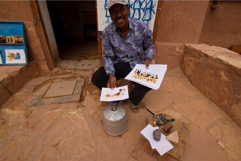 Handcrafts in Ait Ben Haddou - Morocco