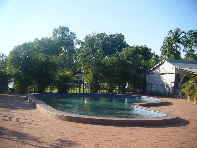 Adelaide River Caravan Park pool - Adelaide River