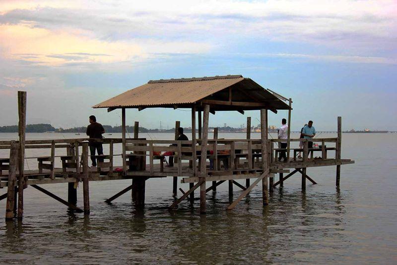aussirose loves Fishing Village Kelong Mamod KL - Kuala Lumpur