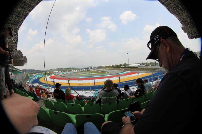 F1 Sepang KL - K Stand view - Canon 60D Fish Eye - Kuala Lumpur