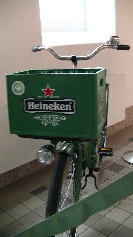 The FBI tests Heineken beer - Amsterdam