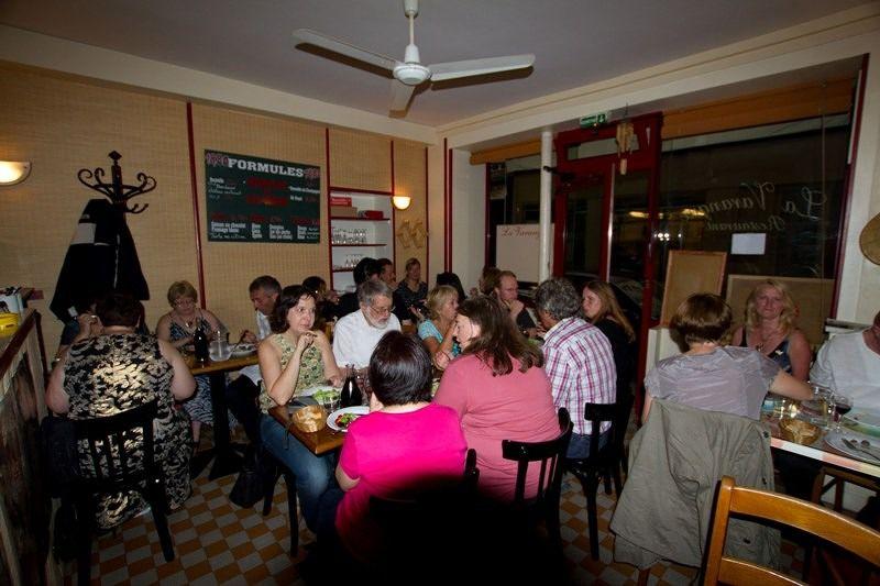 Saturday night Paris meet at Philippe's